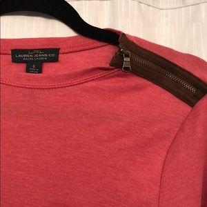 Ralph Lauren Pink Long Sleeve